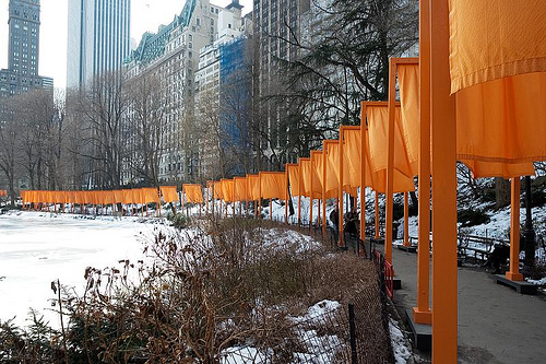Christo orange gates 2003