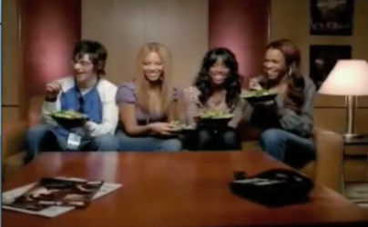 Destiny's Child Eat salad